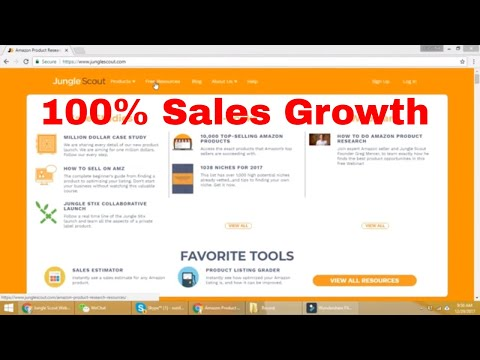 JungleScout Review 100% Growth In Amazon Sales. Must For All Amazon Sellers. PART 1