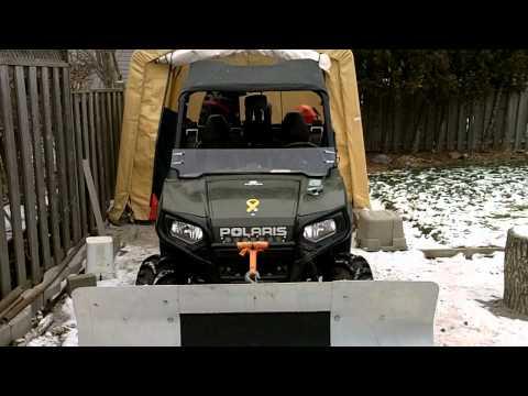 Cheap ATV Plow
