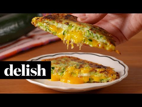 Zucchini Grilled Cheese   Delish