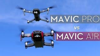 Mavic Pro vs Mavic Air - Which to Buy (2018)