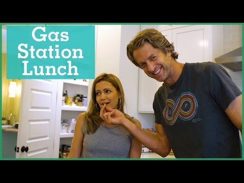 Gas Station Lunch Challenge | The Holderness Family