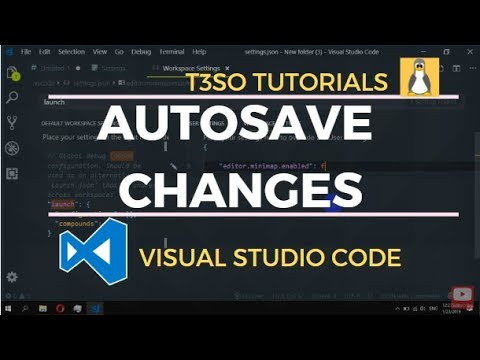 How to Autosave changes in Visual Studio Code