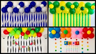 Simple Balloon Decoration Ideas At Home