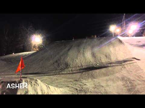 Thursday Night Ski Jumps