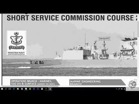 Join Pak Navy 2018-B Short Service Commission SSC Online Registration