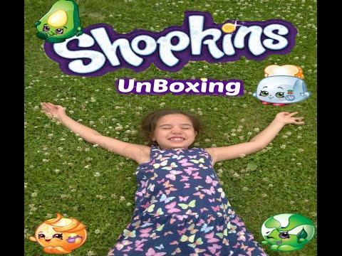 Shopkin Unboxing