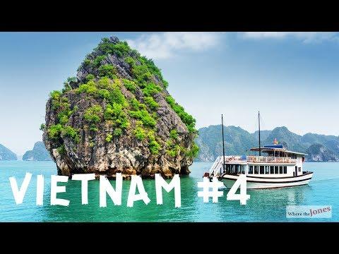 Halong Bay Cruise in Vietnam 🚢Cat Ba & 🐒Monkey Island (2018)