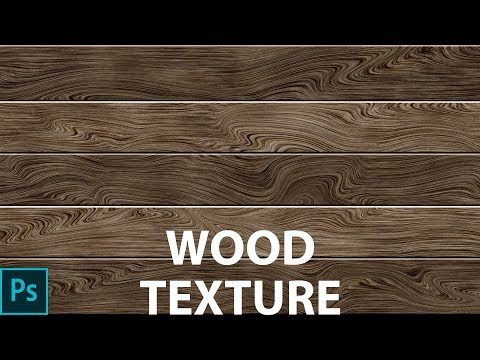 Photoshop Tutorial How to create a wood texture in Photoshop (Adobe Photoshop cc 2017 - PS Design)