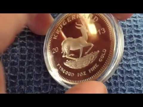 Not a 1oz Gold Krugerrand