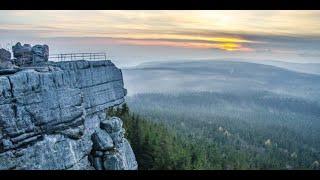 SZCZELINIEC WIELKI - zwiedzanie (Góry Stołowe) HD