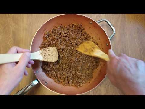 HOW TO MAKE 4 POUNDS GROUND TURKEY FOR CHILI USING 4OZ CHILI POWDER