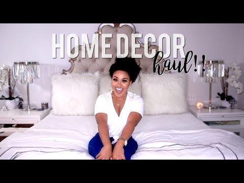 ZGallerie + HomeGoods Home Decor Haul!!! #HouseToHome