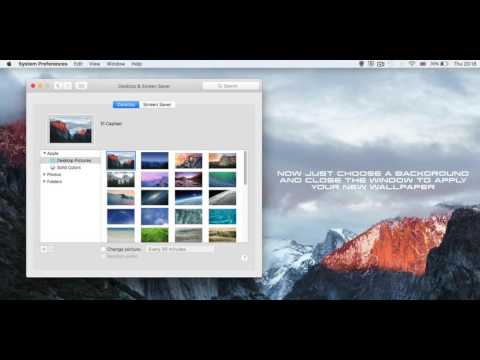 How to Change Your Desktop Background Wallpaper on Mac OS X (Tutorial)