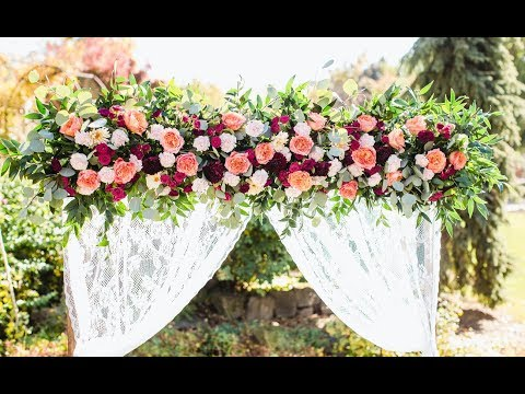 How To Make A Wedding Arbor
