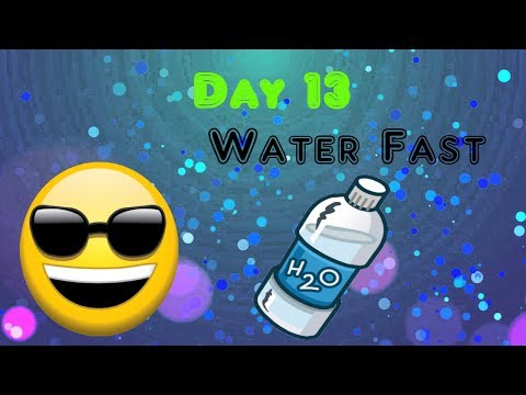Day 13 Water Fast Thinking About Food