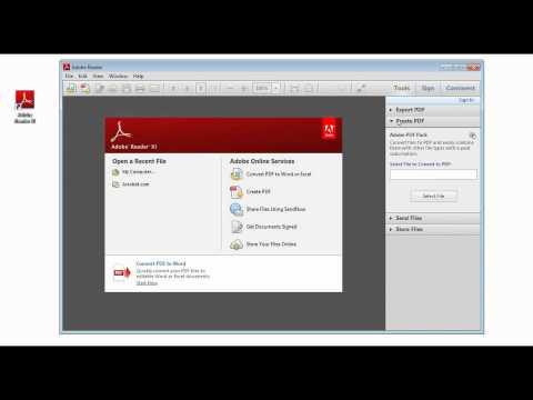 Adobe Reader XI 11