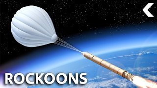 The Crazy Way Scientists Launch Rockets From Balloons