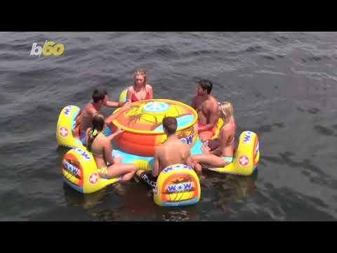 Inflatable Picnics Take Summer to the Next Level