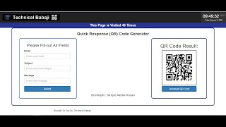 Lendo QR Code com JS (instascan js) / Reading QR Code with JS