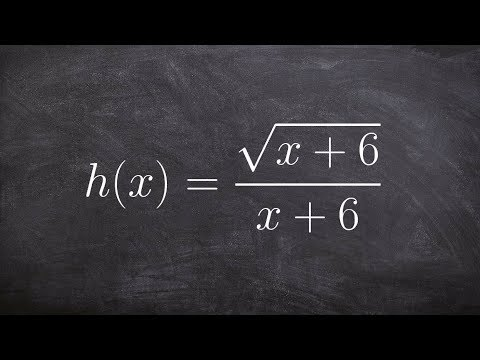 Find the implied domain of a rational function - domain and range