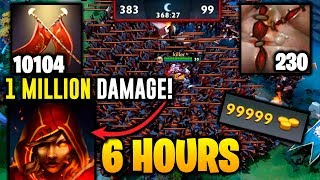 6 Hours Game, Legion +10104 Duel, 1 MILLION DAMAGE Epic Dota 2