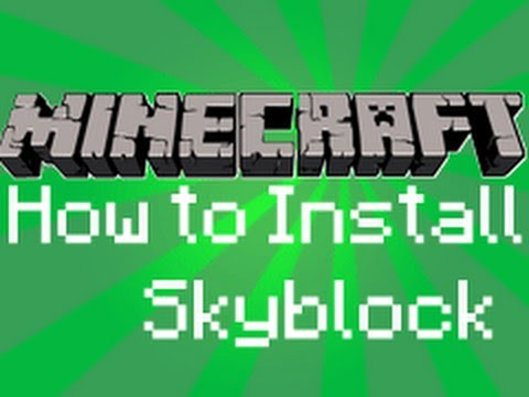 Minecraft Tutorial's - How to Install Skyblock Challenge (for Mac)