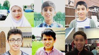 WHAT MUSLIM KIDS WANT IN PARADISE? EXPERIMENT!
