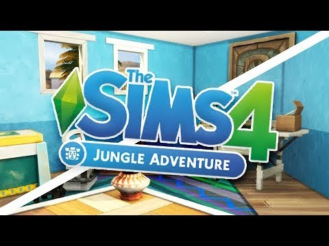 THE SIMS 4 JUNGLE ADVENTURE | BUILD & BUY OVERVIEW!