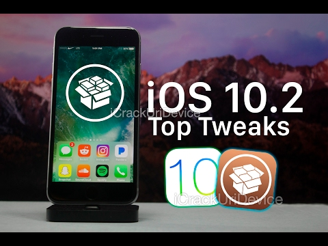 NEW Top iOS 10 Jailbreak Tweaks - iOS 10.2 & Cydia! (Yalu)