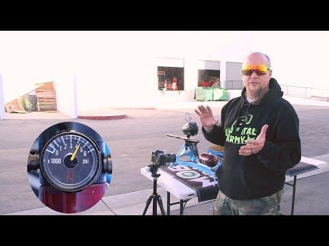 DLX Luxe X Paintball Gun - Efficiency Test