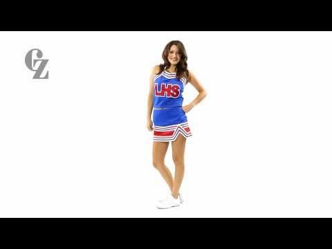 Cheerleader Uniform Top & Skirt | CF1557 CF2401