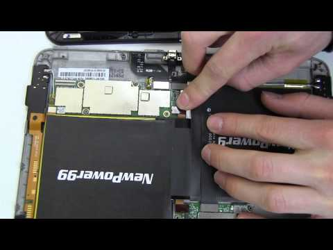 How to Replace Your  Amazon Kindle Fire 3HT7G Battery
