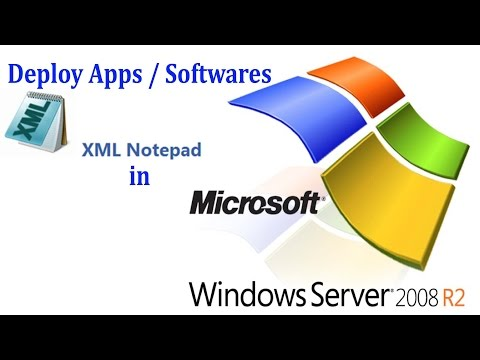 Server 2008 R2 - How to deploy apps or softwares by using group policy in Windows server 2008R2