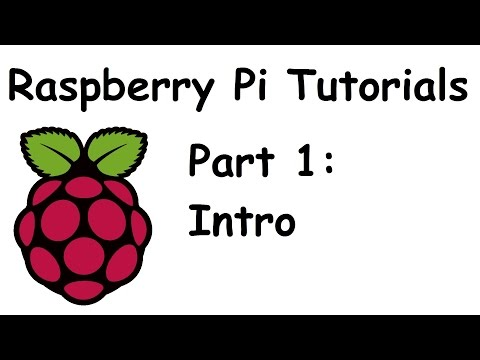 Introduction and Parts - Raspberry Pi and Python tutorials p.1