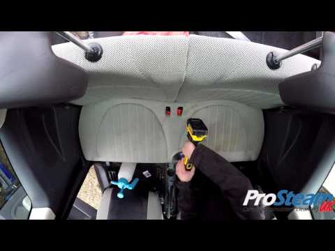 Automotive Interior Deep Cleaning - Car Upholstery Cleaning - Surrey