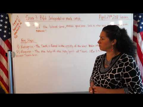 EMOAF S.O.M Back To Basics   Propositions Exegesis Three Course 3: Bible Interpretation made simp...