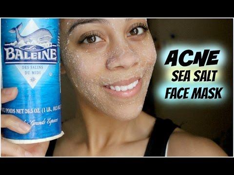 DIY Sea Salt Face Scrub | My Acne Treatment
