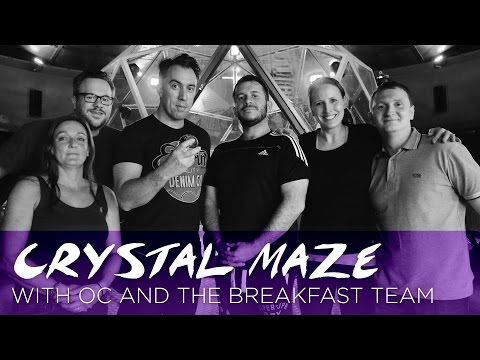 OC and the team play The Crystal Maze