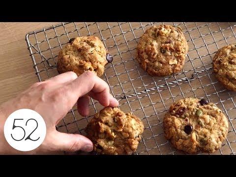 Popcorn Granola Cookies