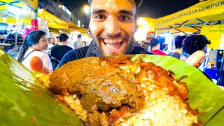 Living on MALAYSIAN STREET FOOD for 24 HOURS!