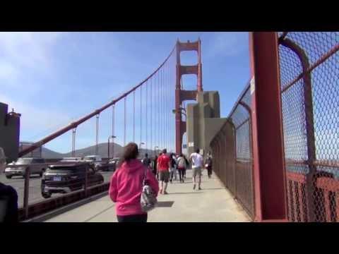 Crissy Field To Golden Gate Bridge In San Francisco HD