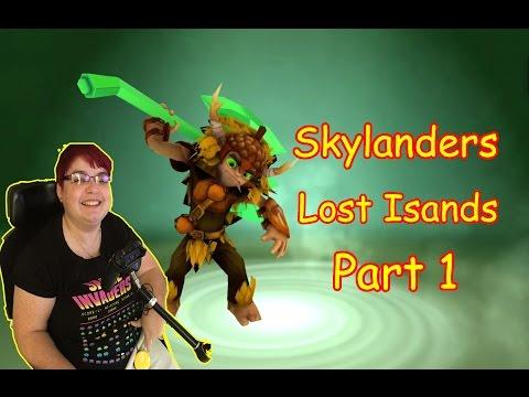 Skylanders Lost Islands: ipad game part1