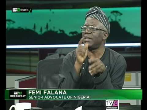 Nigeria's anti- corruption war | Breakfast Show| Femi Falana| TVC News