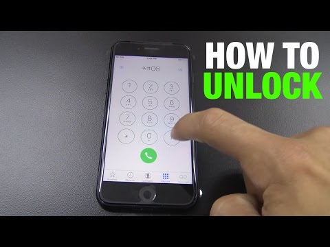 How To Unlock iPhone 7  | Tmobile, AT&T, etc. | iOS 10 or ANY other version |
