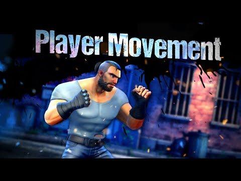 Beat 'Em Up Template 3D - Player Movement