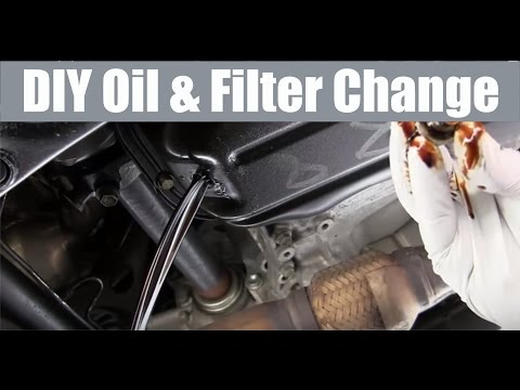 How to change your oil and filter DIY