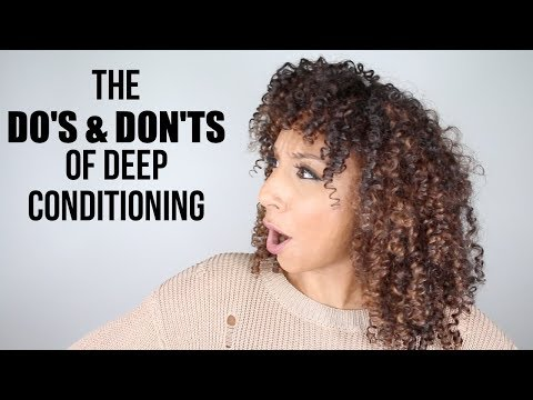 The DO'S & DON'TS of Deep Conditioning! CURL TALK! | BiancaReneeToday