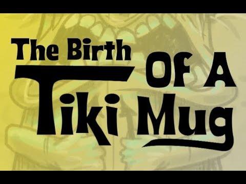 The birth of a Tiki Mug - DIY Slip casting & molding