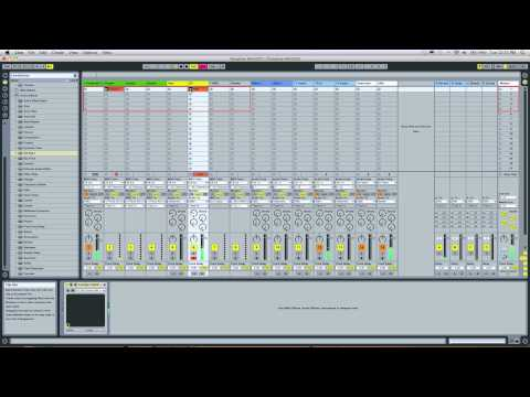 Ableton Live Tutorial - Hip-Hop Template