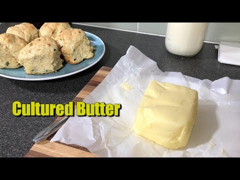 How to Make Cultured Butter at Home